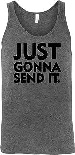 Just Send It Funny Memes Shirts SHIRT メンズ