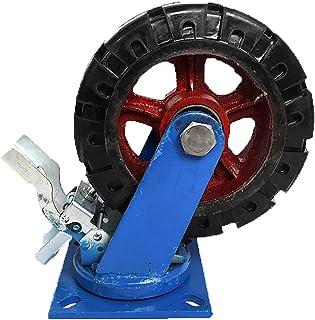 250 mm zwenkwiel met rem Zwenkwielen voor zwaar industrieel transport voor machines