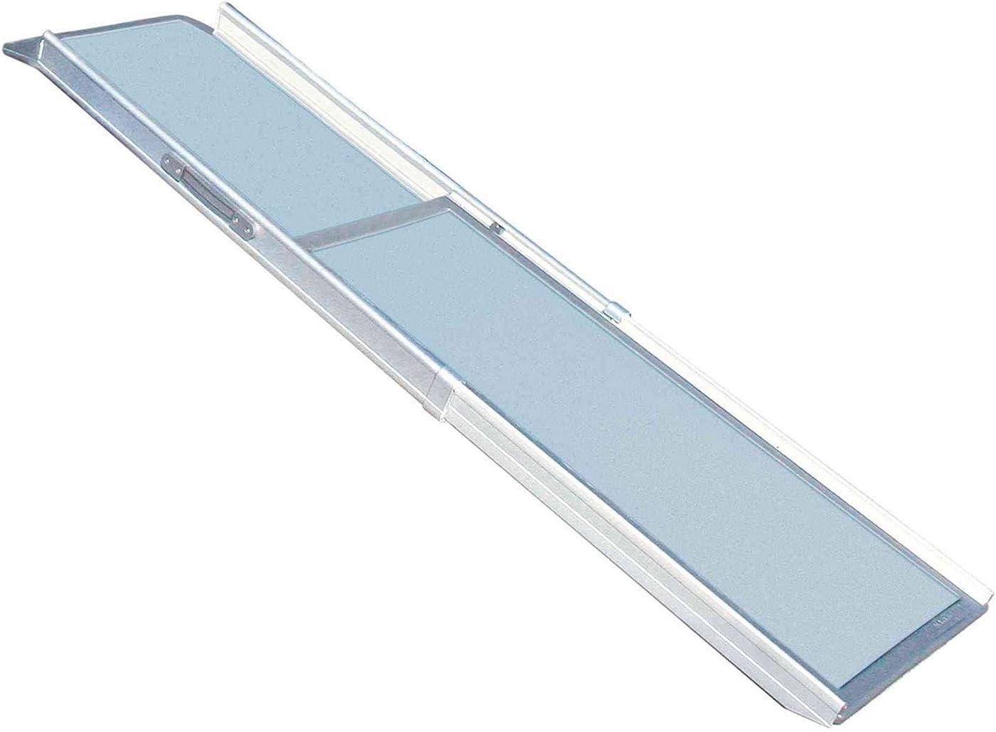 Rampa Telesc. Alum. 43x100-180cm, 5.8kg, máx.120kg