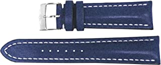 breitling blue leather strap