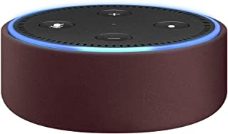 Amazon Echo Dot Case (fits Echo Dot 2nd Generation only) - Merlot Leather
