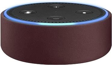 Amazon Echo Dot Case (fits Echo Dot 2nd Generation only) - Merlot Leather