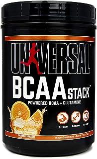 Universal Nutrition BCAA Stack - Branched Chain Amino Acids with Glutamine, Orange Splash