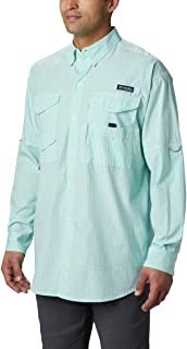 Columbia 男式 Super Bonehead 经典长袖衬衫