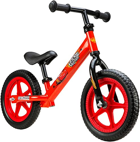 Metall Laufrad - Cars Kinder Lauflernrad 12  Zoll Balance Bike