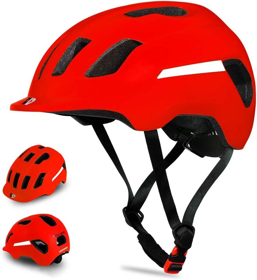 611ZfceDWKL. AC SL1001  - Fahrradhelm für Herren Damen Erwachsene, Sicherheitsschutz Komfortabler Mountainbike Helm Rennradhelm, Leichter verstellbarer Radhelm mit...