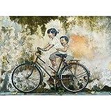 Puzzles De Rompecabezas - Bicicleta Graffiti, Entretenimiento para Niños Adultos Desafiando Juegos De Rompecabezas 500/1000/1500/2000/3000/4000/5000/6000 Piezas 0222