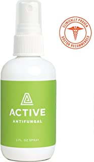 Antifungal Spray - Natural & Non-Toxic. Helps With Athletes Foot, Ringworm and Jock Itch. Doctor Recommended.