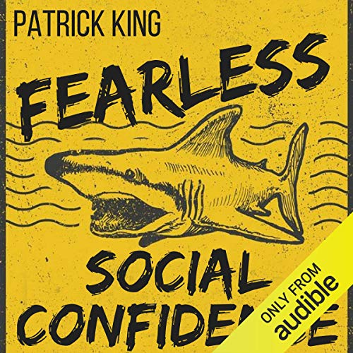 Fearless Social Confidence audiobook cover art