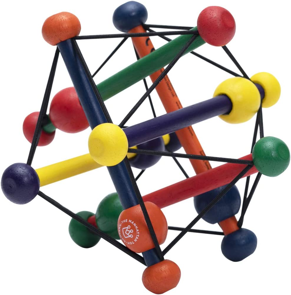 Manhattan Toy Skwish Classic Rattle and Max 85% OFF Grasping Activit Teether shop