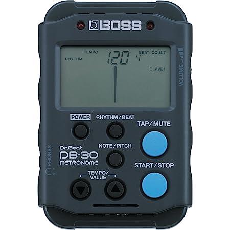 BOSS Dr. Beat Portable Metronome (DB-30) , Black