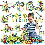 354 Pcs STEM Building Blocks Set Toy For Kid, Pipe Tube Sensory Toys with...