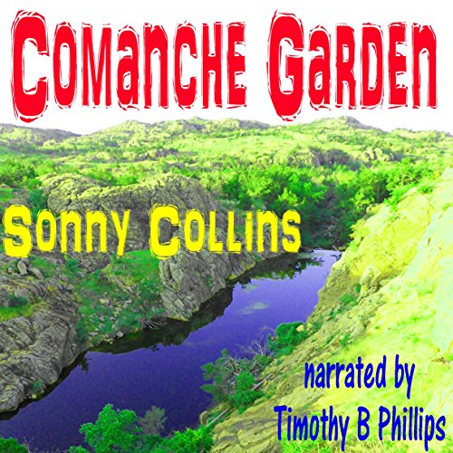 Comanche Garden audiobook cover art