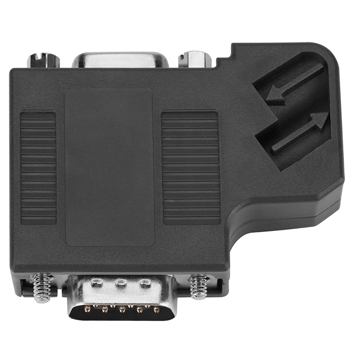 Akozon DP Data Connector, 1pcs 6ES7 972-0BB41-0XA0 DP Plug Profibus Bus Connector Adapter Electronic Data Systems
