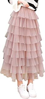 Best pink tiered skirt Reviews