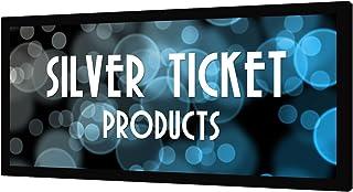 "STR-235138-G Silver Ticket 2.35:1 4K Ultra HD Ready Cinema Format (6 Piece Fixed Frame) Projector Screen (2.35:1, 138"", Grey Material)"
