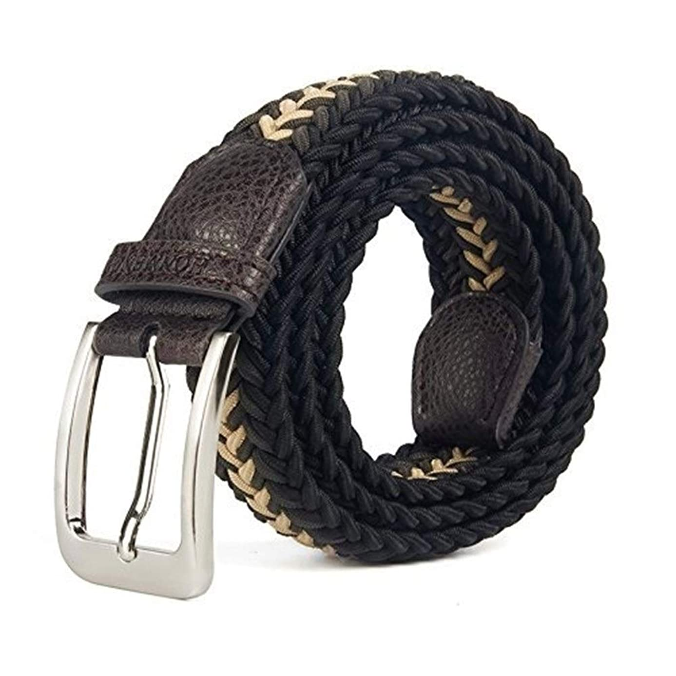 Belt Men Women Pin Buckle Casual Elastic Belt for Jeans by LTstore