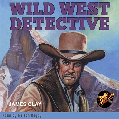 Wild West Detective audiobook cover art
