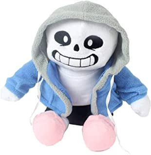 CJYVV 22cm Undertale Sans Plush Figures Pillow Stuffed Soft Doll Anime Statue Cushion Puppet Toy Childhood Playmate Birthd...