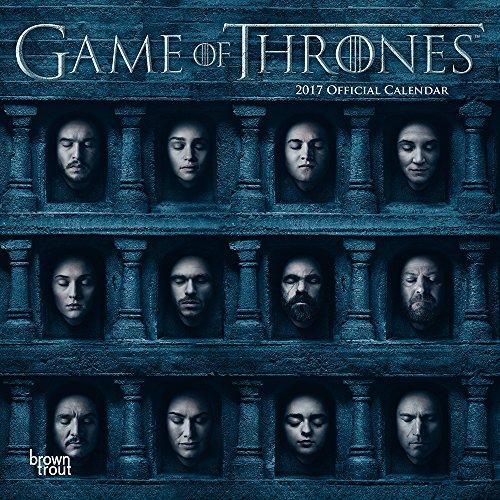 Grupo Erik Editores Game Of Thrones - Calendario 2017, 30 x 30 cm