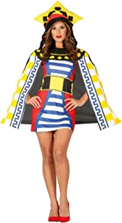 Ladies Playing Card Queen Casino Las Vegas Hen Do Night Party Fancy Dress Costume Outfit