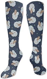 MISS-YAN, Calcetines para hombre y mujer, diseño de ovejas