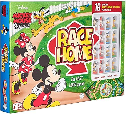 Cartamundi Jeu de société Mickey & ‿Friends Race Home Multicolore