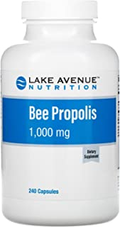 Lake Avenue Nutrition Bee Propolis, 5:1 Extract, Equivalent to 1,000 mg, 240 Veggie Capsules