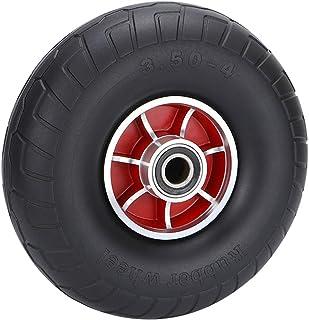 YJJT Heavy Duty Solid Rubber Tire, Explosieveilige wielen, Solid Tire Wheel voor Dolly Hand Truck Cart, Gebruikt voor gras...