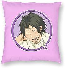 ANNBITION Haikyuu!!Hot Anime Manga Yamaguchi Cozy Throw Pillow Covers Set Decorative Throw Pillow Cushion Case for Couch B...
