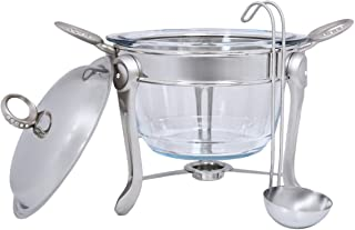 Chef Inox Stainless Steel Food Warmer - 5 Pieces,Silver