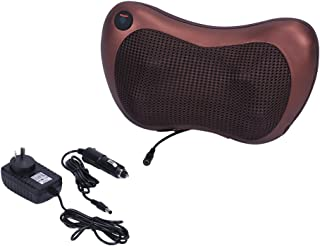 AYNEFY Pillow Massager, Neck Massage Cushion Electronic Heated for Body Relax at Car Home Improve Blood Circulation