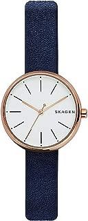[スカーゲン]SKAGEN レディース シグネチャー ダークネイビー レザー SKW2592 腕時計 [並行輸入品]