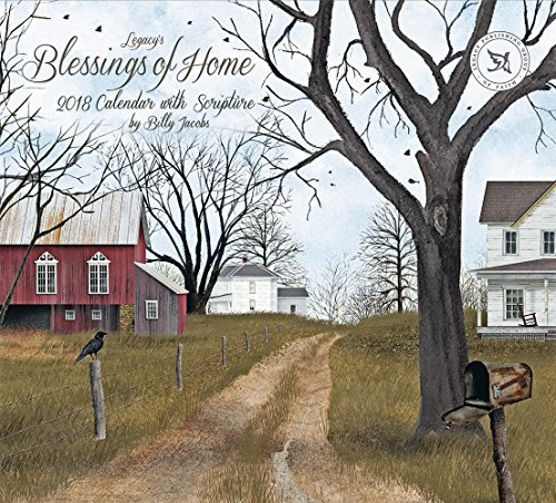 Legacy Publishing Group 2018 12-Month Wall Calendar with Scripture, Blessings of Home