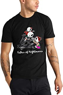 Father of Nightmare - Funny Vintage Trending Awesome Shirt for Father Love Jack Skellington Unisex Style by SMLBOO Shirt