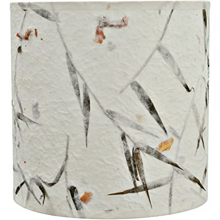"Aspen Creative 31223 Transitional Drum (Cylinder) Shaped Spider Construction Lamp Shade, 8"" x 8"" x 8"", Off White"