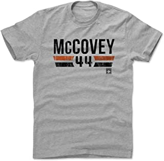 500 LEVEL Willie McCovey Shirt - Vintage San Francisco Baseball Men's Apparel - Willie McCovey Font