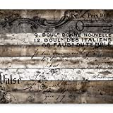 murando - Fototapete Holz 400x280 cm - Vlies Tapete - Moderne Wanddeko - Design Tapete - Wandtapete - Wand Dekoration - Bretter Holzoptik Holzwand f-C-0152-a-a