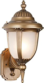 Best antique brass outdoor light fixtures Reviews