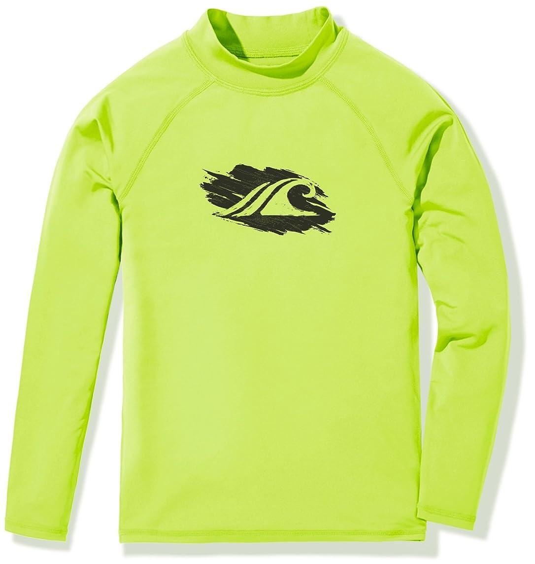 TSLA Girls UPF 50+ Long Sleeve Rashguard Youth Surf Kids Swim top