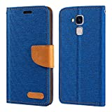 Huawei Honor 5C Case, Oxford Leather Wallet Case with Soft