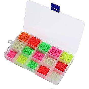 Bulk Multi Coloured,8mm Rig Making Beads,Inc Luminous.Well Over 1000 Per Pack.