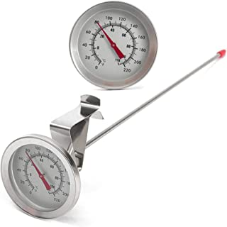 Thermomètre Cuisine Digital Sonde Alimentaire Numérique Bouilloire Clip sur Cadran Accueil Vin Bière Kitchen Thermometer E...