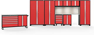 NewAge Products Bold 3.0 Red 10 Piece Set, Garage Cabinets, 56468