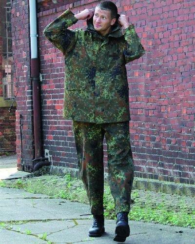 AOS-Outdoor Originale BW Bundeswehr Protezione Impermeabile Giacca Originale Prodotto apribottiglie