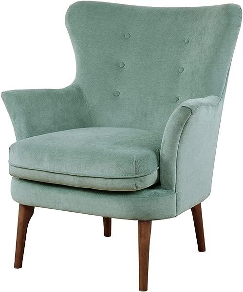 Madison Park MP100 0144 Brady Seafoam Family Room Modern Sofa Furniture
