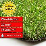 Steffensmeier Kunstrasen Rasenteppich Wimbledon Meterware