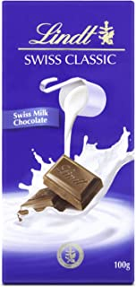 Lindt Swiss Classic Milk Chocolate, 100 gm (Pack of 1)