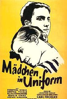 Posterazzi Madchen in Uniform from Top On German Art: Dorothea Wieck Hertha Thiele 1931 Movie Masterprint Poster Print (24 x 36)