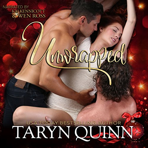Unwrapped: A MMF Holiday Romance audiobook cover art